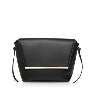 Hieleven / UnitudeLara Flap Crossbody Leather Bag